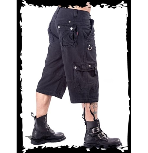 3/4 pants with 2 side pockets and D-ring