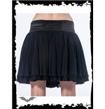 Black Multi Layered Skirt