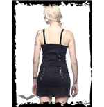 Black Dress with Buckles and Bondage