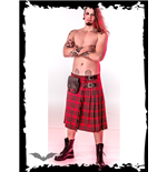 Red chequered Kilt