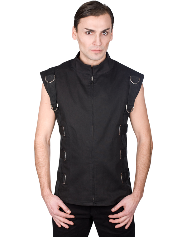 Aderlass Bondage Vest Denim