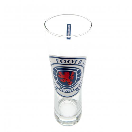 Rangers F.C. Tall Beer Glass