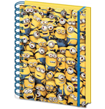 Despicable Me 3D Notebook A5 Many Minions
