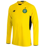 2015-2016 Celtic Home Long Sleeve Goalkeeper Shirt (Kids)