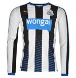 2015-2016 Newcastle Home Long Sleeve Shirt (Kids)