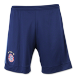 2015-2016 Bayern Munich Adidas Home Goalkeeper Shorts (Blue) - Kids