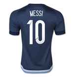 2015-16 Argentina Away Shirt (Messi 10)