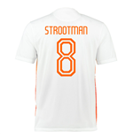 2015-2016 Holland Nike Away Shirt (Strootman 8) - Kids