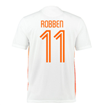 2015-2016 Holland Nike Away Shirt (Robben 11) - Kids