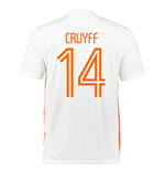 2015-2016 Holland Nike Away Shirt (Cruyff 14)