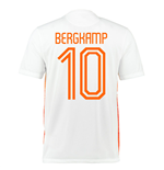 2015-2016 Holland Nike Away Shirt (Bergkamp 10)