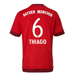 2015-16 Bayern Munich Home Shirt (Thiago 6)