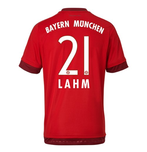 2015-16 Bayern Munich Home Shirt (Lahm 21)