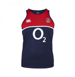 2015-2016 England Rugby Poly Singlet (Navy)