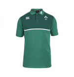 2015-2016 Ireland Rugby Cotton Training Polo Shirt (Green)