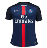 2015-2016 PSG Authentic Home Nike Football Shirt