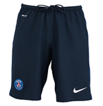 2015-2016 PSG Nike Home Shorts (Navy)