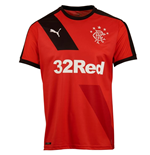 2015-2016 Rangers Away Football Shirt