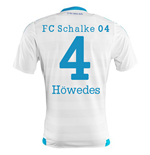 2015-16 Schalke Away Shirt (Howedes 4)