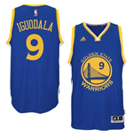 Mens Andre Iguodala Golden State Warriors adidas Royal Blue New Swingman Road Jersey