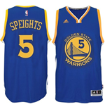 Mens Golden State Warriors Marreese Speights adidas Royal Blue New Swingman Road Jersey