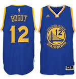 Mens Golden State Warriors Andrew Bogut adidas Royal Blue New Swingman Road Jersey