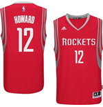 Mens Houston Rockets Dwight Howard adidas Red New Swingman Road Jersey
