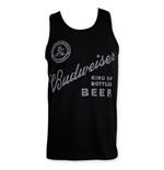 BUDWEISER King Of Beers Black Tank Top