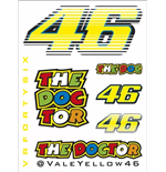 Rossi Sticker Set Small 2015