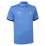 2015-2016 Tottenham Travel Polo Shirt (Water Blue)