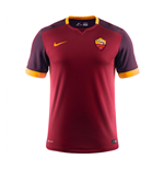 2015-2016 AS Roma Home Nike Football Shirt