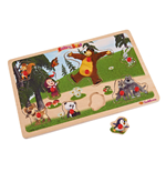 Masha and the Bear Wooden Puzzles