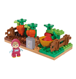 Masha and the Bear Lego - Vegetable garden - 35 pieces with Masha