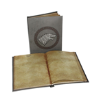 Game of Thrones Notebook with with Light Stark