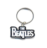 The Beatles Keychain - Drop T White