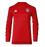 2015-2016 Bayern Munich Adidas Training Top (Red)