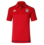 2015-2016 Bayern Munich Adidas Polo Shirt (Red)