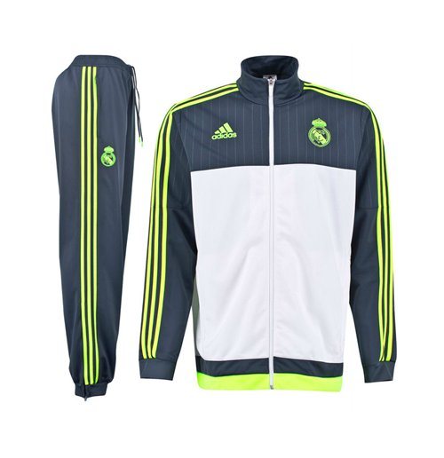 2016 White Kids Tracksuit Adidas Real Madrid 2015 PES HdqpHS