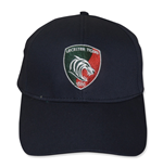 2014-2015 Leicester Tigers Cotton Drill Cap (Navy)