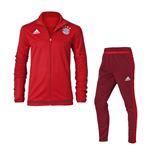 2015-2016 Bayern Munich Adidas Training Suit (Red)