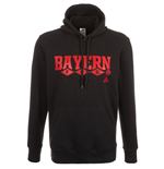 2015-2016 Bayern Munich Adidas Cotton Hoody (Black)
