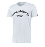 2015-2016 Real Madrid Adidas Graphic Tee (Grey)