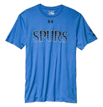 2015-2016 Tottenham UA Spurs T-Shirt (Water Blue) - Kids