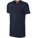 2015-2016 Barcelona Nike Covert Pocket Tee (Navy)