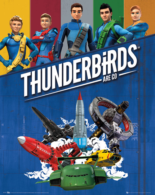 Thunderbirds Are Go Go Mini Poster
