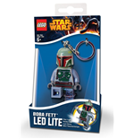 Lego Star Wars Mini-Flashlight with Keychains Boba Fett