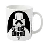 2000AD Judge Death Mug Helmet Silhouette