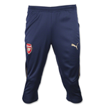 2015-2016 Arsenal Puma Three Quarter Length Training Pants (Navy)