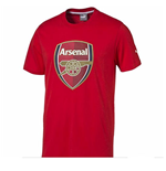 2015-2016 Arsenal Puma Crest Fan Tee (Red)