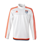 2015-2016 Lyon Adidas Training Top (White)